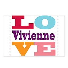 I Love Vivienne Postcards (Package of 8)