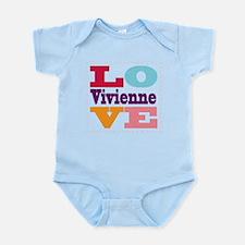 I Love Vivienne Infant Bodysuit