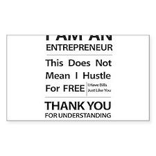 I am an entrepreneur Decal