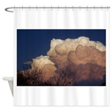 Funny Thunderstorm Shower Curtain