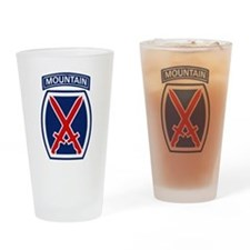 Cute 10th mountain division Drinking Glass