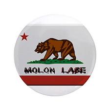 """California Flag Molon Labe 3.5"""" Button (100 pack)"""
