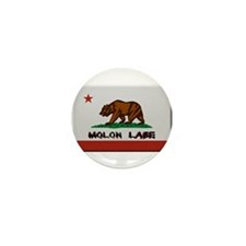 California Flag Molon Labe Mini Button (10 pack)