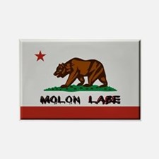 California Flag Molon Labe Rectangle Magnet (10 pa