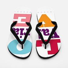 I Love Valeria Flip Flops