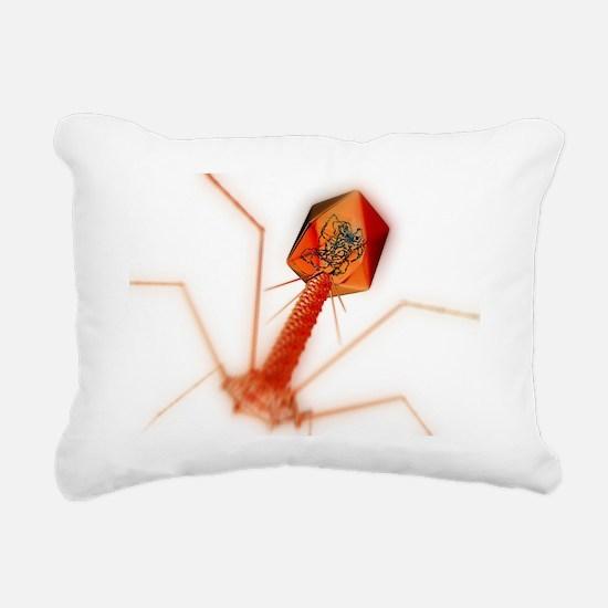T4 bacteriophage virus, computer artwork - Rectang