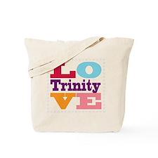 I Love Trinity Tote Bag