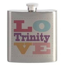 I Love Trinity Flask