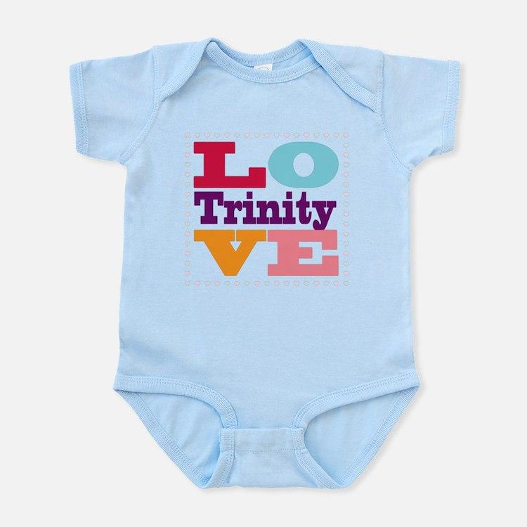 I Love Trinity Infant Bodysuit