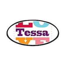 I Love Tessa Patches