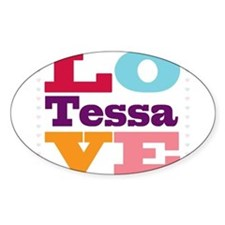 I Love Tessa Decal