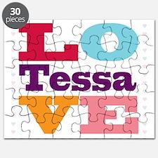 I Love Tessa Puzzle