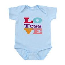 I Love Tess Infant Bodysuit