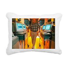 Dr Craig Venter - Rectangular Canvas Pillow
