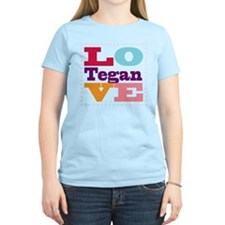 I Love Tegan T-Shirt