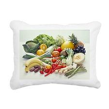 Fruits and vegetables - Rectangular Canvas Pillow