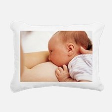 Breastfeeding - Rectangular Canvas Pillow