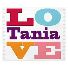 I Love Tania King Duvet