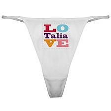 I Love Talia Classic Thong