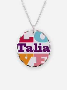 I Love Talia Necklace