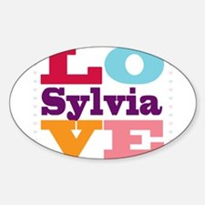 I Love Sylvia Decal