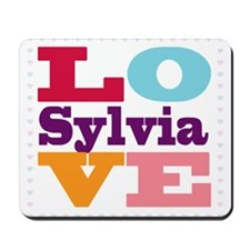 I Love Sylvia Mousepad