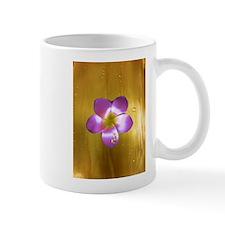 Golden Plumeria Mug