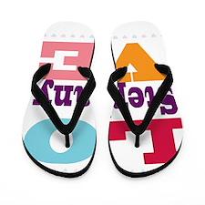 I Love Stephany Flip Flops