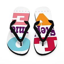 I Love Stephanie Flip Flops