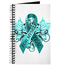 I Wear Teal for Myself Journal
