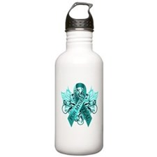 I Wear Teal for Myself Sports Water Bottle