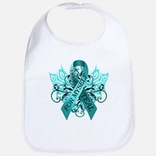 I Wear Teal for Myself Bib