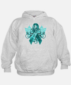 I Wear Teal for my Wife Hoodie