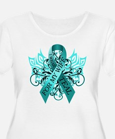 I Wear Teal for my Wife T-Shirt