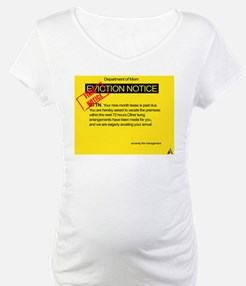 Overdue baby eviction notice Shirt