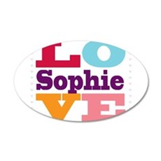 I Love Sophie Wall Decal