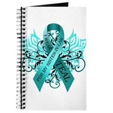 I Wear Teal for my Sister in Law Journal