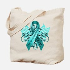 I Wear Teal for my Sister in Law Tote Bag