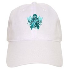 I Wear Teal for my Sister Baseball Cap