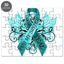 I Wear Teal for my Sister Puzzle