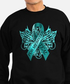 I Wear Teal for my Sister Sweatshirt