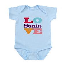 I Love Sonia Infant Bodysuit