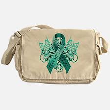 I Wear Teal for my Niece Messenger Bag