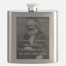 I Have Of Course - Karl Marx Flask