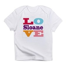 I Love Sloane Infant T-Shirt