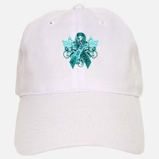 I Wear Teal for my Mom Baseball Baseball Cap