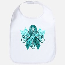 I Wear Teal for my Mom Bib
