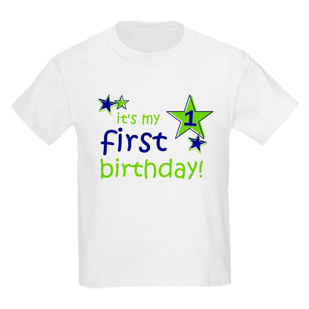 It's My First Birthday Kids Light T-Shirt It's My First