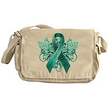 I Wear Teal for my Great Grandma Messenger Bag