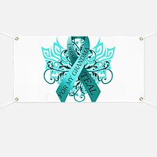 I Wear Teal for my Grandma Banner